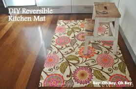 kitchen rugs. DIY Kitchen Mat Rugs