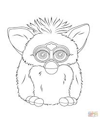 25 Bladeren Furby Kleurplaat Mandala Kleurplaat Voor Kinderen