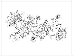 Free Swear Word Coloring Pages 269 Free Printable Swear Word