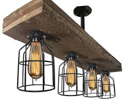 vintage farmhouse lighting. Farmhouse Lighting Triple Wood Beam Vintage Decor Chandelier Light Great In Kitchen, Bar, Industrial