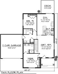 interior dazzling two bedroom house floor plans 20 mod three single floor two bedroom house plans