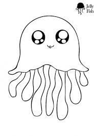 Small Picture This is the cutest jellyfish coloring page ever Kids will love