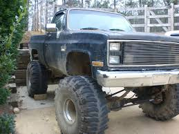 1985 Chevy 4x4 LIFTED on 44