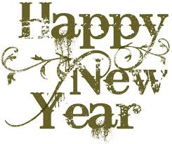 vintage happy new year banner clip art. Happy New Year Clip Art Image For Vintage Banner