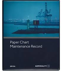 Np133a Paper Chart Maintenance Record 5th Edition 2017