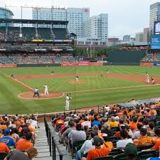 Baltimore Camden Yards Seating Chart Baltimore Orioles Tickets Gametime
