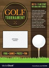 Golf Outing Flyer Template Naomijorge Co