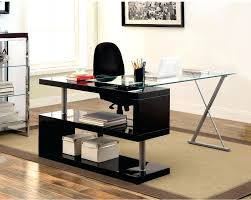 contemporary glass office furniture. Awesome Modern Glass Office Desk Contemporary Designs Decorating Ideas Design In Furniture Wonderful Picture