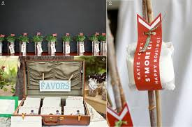 5 unique wedding favor ideas for rustic chic wedding styles eco planters s mores kits cds