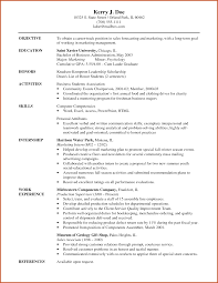 Resume Career Objective Examples Career Objective Examples Sop Example 15