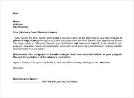 15 Formal Thank You Letter Professional Resume