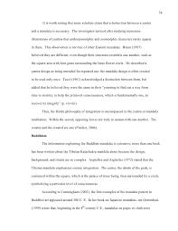 art therapy thesis mandalas the shri yantra on a plinth 45
