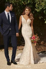 Designer Sheath Wedding Dresses Bridal Dresses Sophia Tolli
