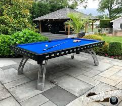 Custom Outdoor Pool Table 100 Waterproof Design All