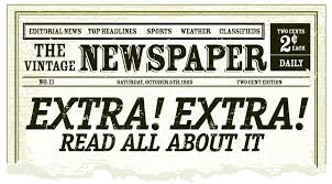 Old Fashion Newspaper Template Best Photos Of Old Time Newspaper Template Editable Old