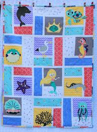 Mermaid Quilt Pattern Interesting Decorating