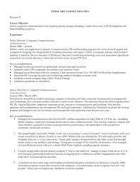 It Objectives For Resume Resume Sample Objectives Management