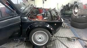 Fiat 127 dyno 2011 - YouTube