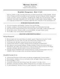 Management Skills Resume New Hospitality Skills Resume Best Resume Template Whizzme