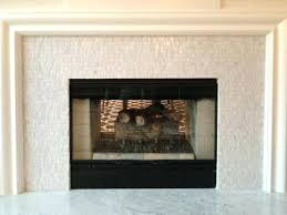 white tile fireplace for surround awesome mosaic surrounds intended ideas with mantle white tile fireplace subway mantle