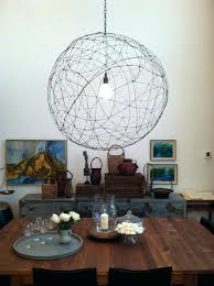 glass orb chandelier home furniture west elm installation