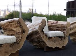 recycled wood furniture ideas. reclaimed wood seating furniture design cocoon chair andre joyau brooklyn nyc recycled ideas a