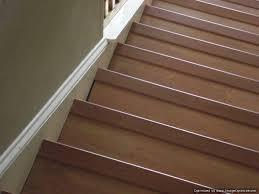 laminate flooring on stairs nosing