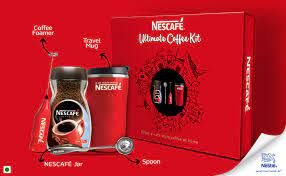 Made from specially selected and carefully roasted coffee beans, a freshly brewed cup of this instant coffee is sure to energize you and awaken your senses. Nescafe The Ultimate Coffee Kit Nescafe Classic Jar With Travel Mug And Coffee Foamer Jar 100 G Amazon In Grocery Gourmet Foods