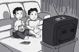 black kids watching tv. people black kids watching tv