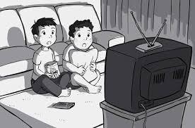 black kids watching tv. people black kids watching tv
