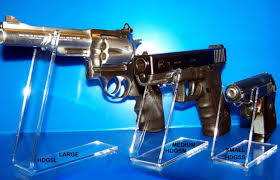 Handgun Display Stand Customized Acrylic Gun Display Stand Suppliers and Manufacturers 18
