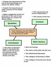 bbc higher bitesize history essay writing revision page a spider diagram of a history essay plan the question is how important was