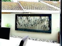 amazing outdoor wall hanging metal art