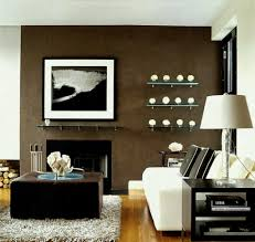 design ideas chocolate brown accent wall easy living room makeover