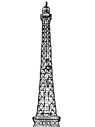 Small Picture Amazing Eiffel Tower Coloring Page Download Print Online