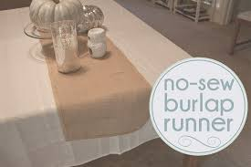 interesting burlap table runner for dining table accessories ideas