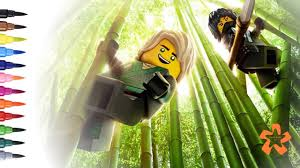 Lego Ninjago Movie How To Color Lego Ninjago Coloring Pages For Children With Color Kids Tv