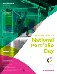 Concordia Design Portfolio Join Us For National Portfolio Day December 2 2017