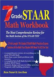7th Grade Staar Math Workbook 2018 The Most Comprehensive