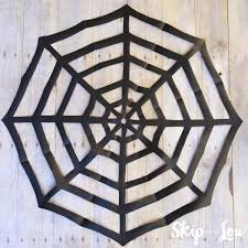 ... how-to-make-a-paper-spider-web