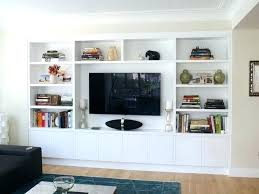 built in tv wall built in wall unit best built in images on living room bedrooms