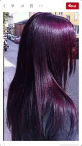 Absolutely love this rich and beautiful plum hair color!