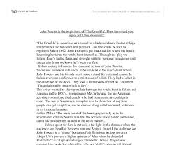 Crucible John Proctor Tragic Hero Essay Custom Paper Sample