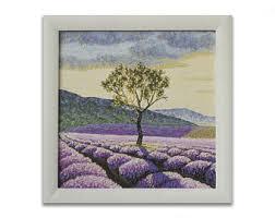 lavender canvas art lavender fields art small oil painting sunset painting wall art landscape painting cheap canvas art wall art on lavender fields wall art with lavender fields art etsy