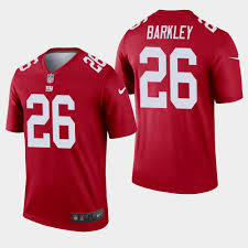 - Legend Saquon 26 Inverted New York Red Men's Giants Jersey Barkley