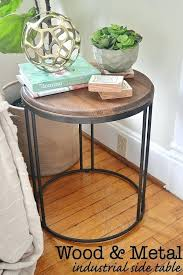 round metal bedside table wood and metal bedside table doubtful small round designs interior design metal