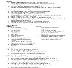 Music Industry Resume Music Industry Resume Cv Template Sample Examples Creative Resumes 7