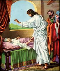 Image result for picture of Jesus healing