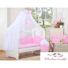 consists of 3 separate parts it lets on many ways of fitting in the cot 4 mosquito net made of chiffon 470x160 cm 5 bow hanging s