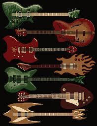 acoustic electric guitar black area rug red fender al instrument carpet